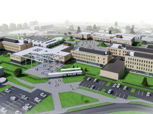 Extension et restructuration du lycée Raymond Queneau (Yvetot)